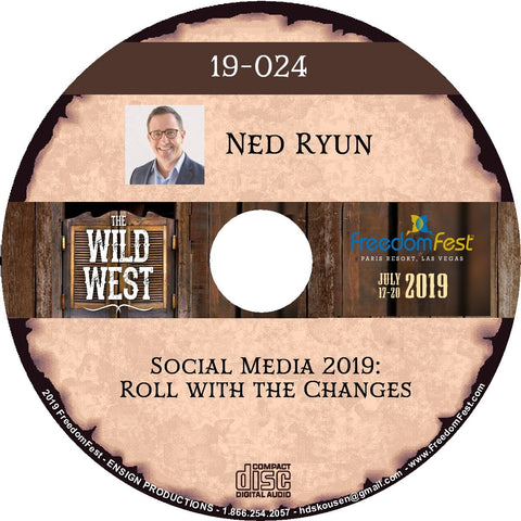 Ned Ryun - Social Media 2019: Roll with the Changes