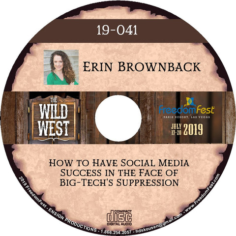 Erin Brownback - How to Have Social Media Success in the Face of Big-Tech's Suppression