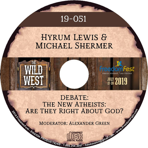 Hyrum Lewis & Michael Shermer - DEBATE: The New Atheists: Are They Right About God?