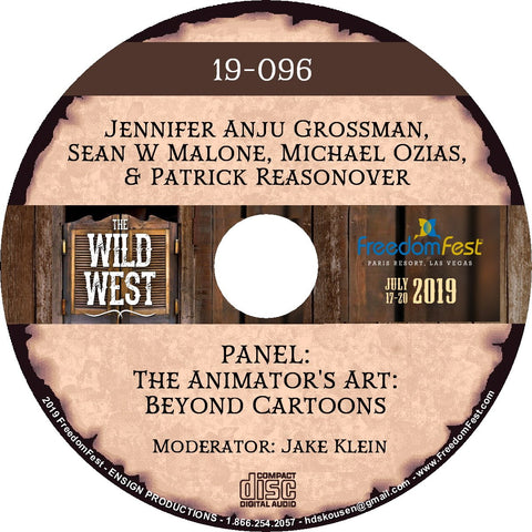 Jennifer Anju Grossman, Sean W Malone, Michael Ozias, Patrick Reasonover - PANEL The Animator's Art: Beyond Cartoons