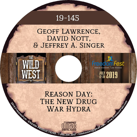 Geoff Lawrence, David Nott, Jeffrey A. Singer - Reason Day The New Drug War Hydra
