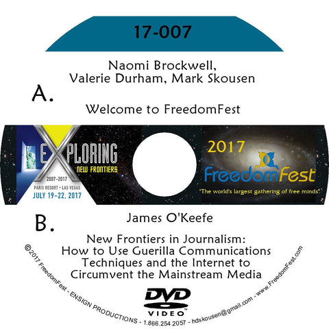 Naomi Brockwell, Valerie Durham, Mark Skousen - James O'Keefe
