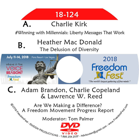 Charlie Kirk - Heather Mac Donald - Brandon, Copeland, Reed