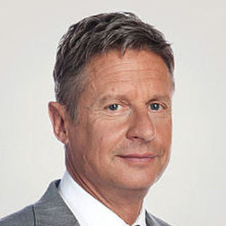 Gary Johnson - Libertarian Presidential Candidate Gary Johnson: Less Government Equals More Liberty