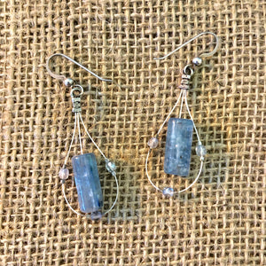 Kyanite and Crystal