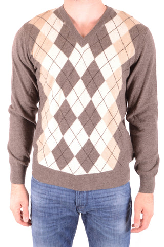 GANT Multicolor Cashmere Sweater front