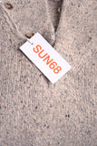 SUN68 Warm Grey Sweater Original Label