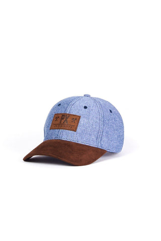 PX Go Exploring Indigo Cap front without model