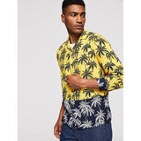 SHEIN bahama mama tropical shirt side view