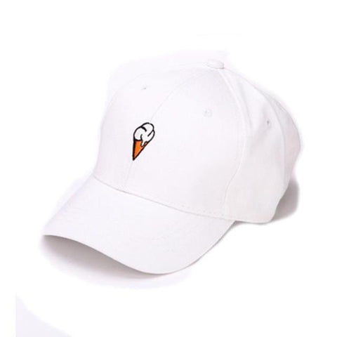 """Ice Cream"" Baseball Style Cap in 2 Colors Cap - Stylish Portal"
