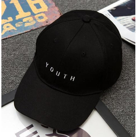 """Youth"" Baseball Style Cap in Multiple Colors Cap - Stylish Portal"