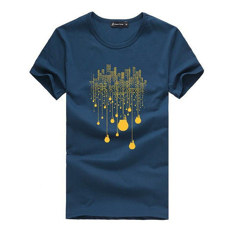 """City lights"" T-Shirt In Different Colors T-Shirt - Stylish Portal"