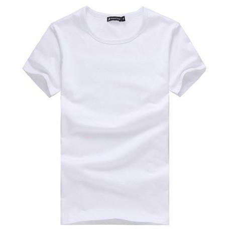 Solid White Color T-Shirt T-Shirt - Stylish Portal