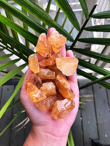 Citrine Calcite