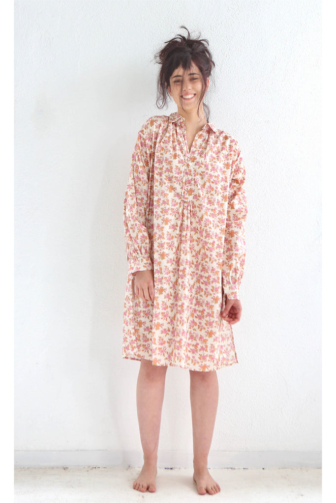 Domi Sleep Shirt, Spring Print