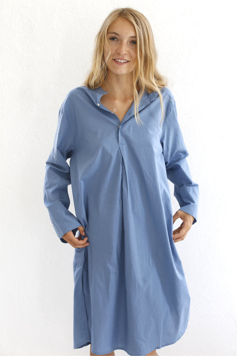 Domi,Nightshirt, Cornflower