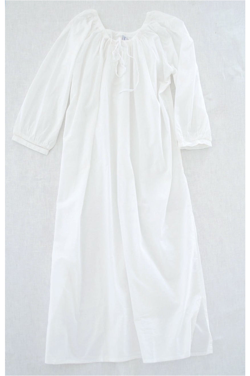 nightgown white