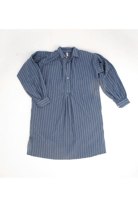 Sleep Shirt, Blue Stripe