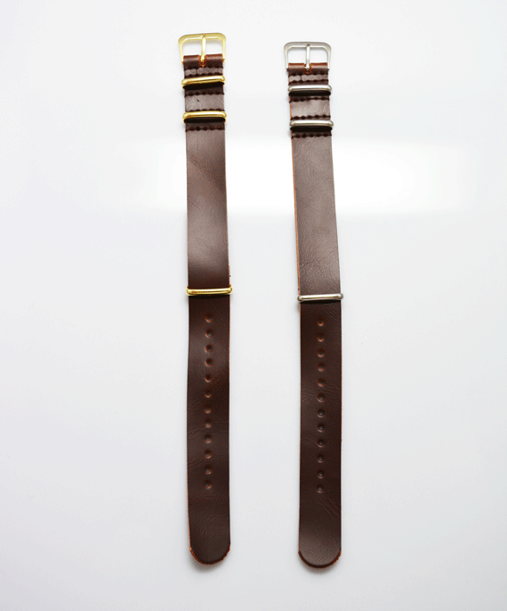 Brown Vegan Leather Band