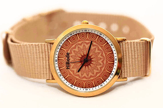 The Golden Age - Kaleidoscope Mandala style watch