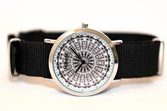 Musical Notes - black and white musical inspired watch - WATCHUS