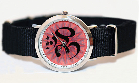OM Fire - Symbolic and spiritual watch