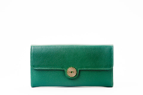 The Sultan Wallet - Green - Bouswari
