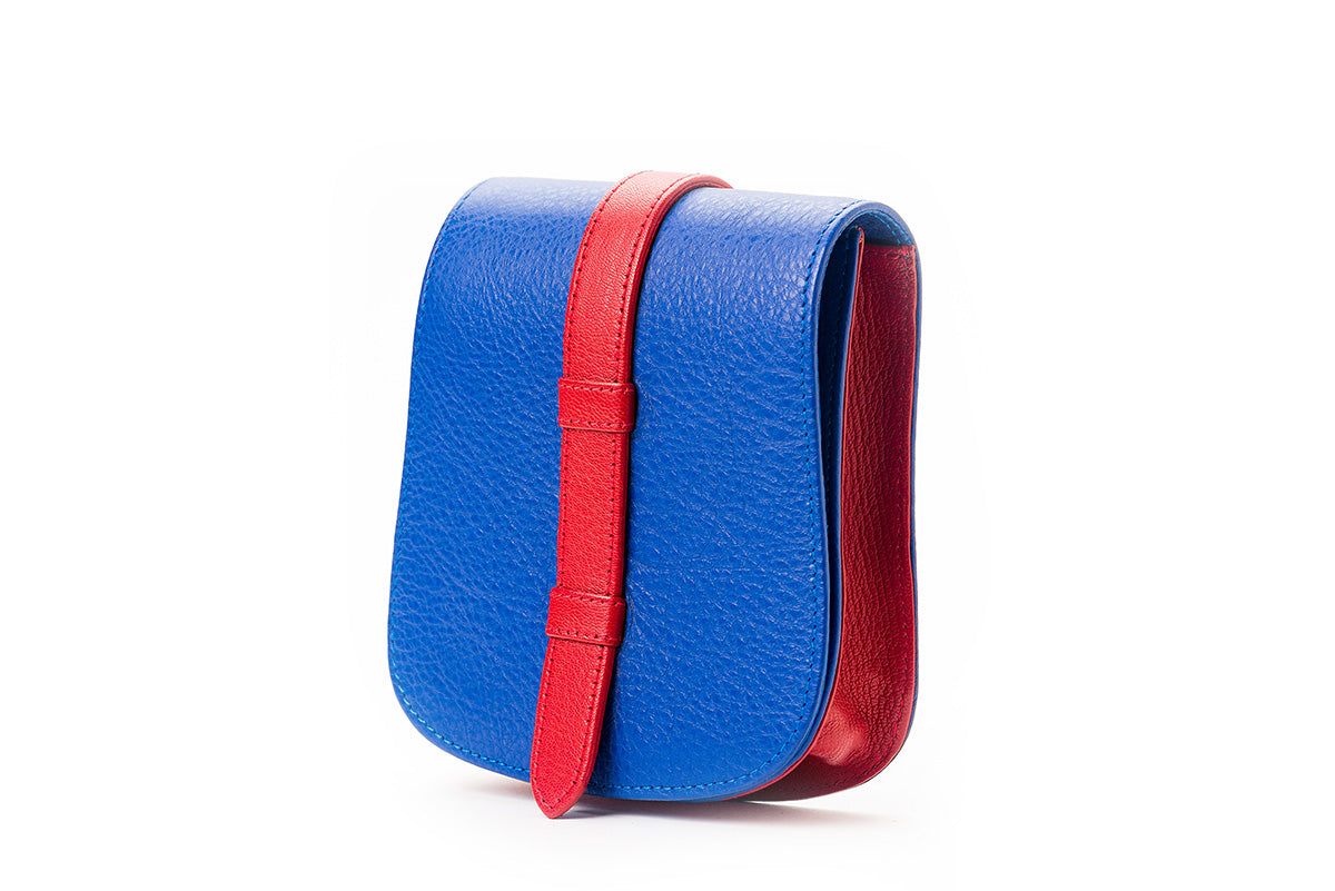 Nafa Belt Bag Blue & Red