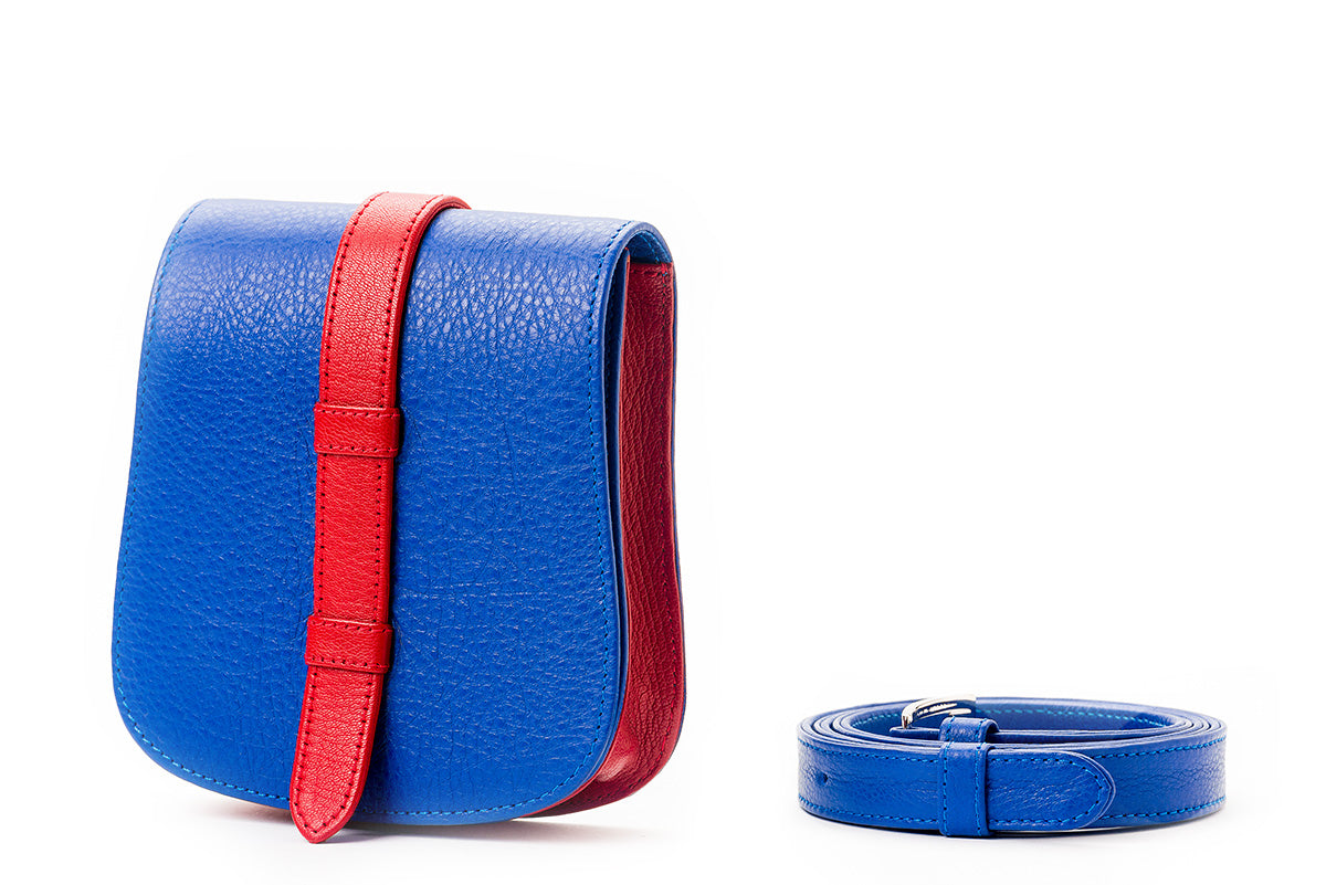 Nafa Belt Bag Blue & Red - Bouswari