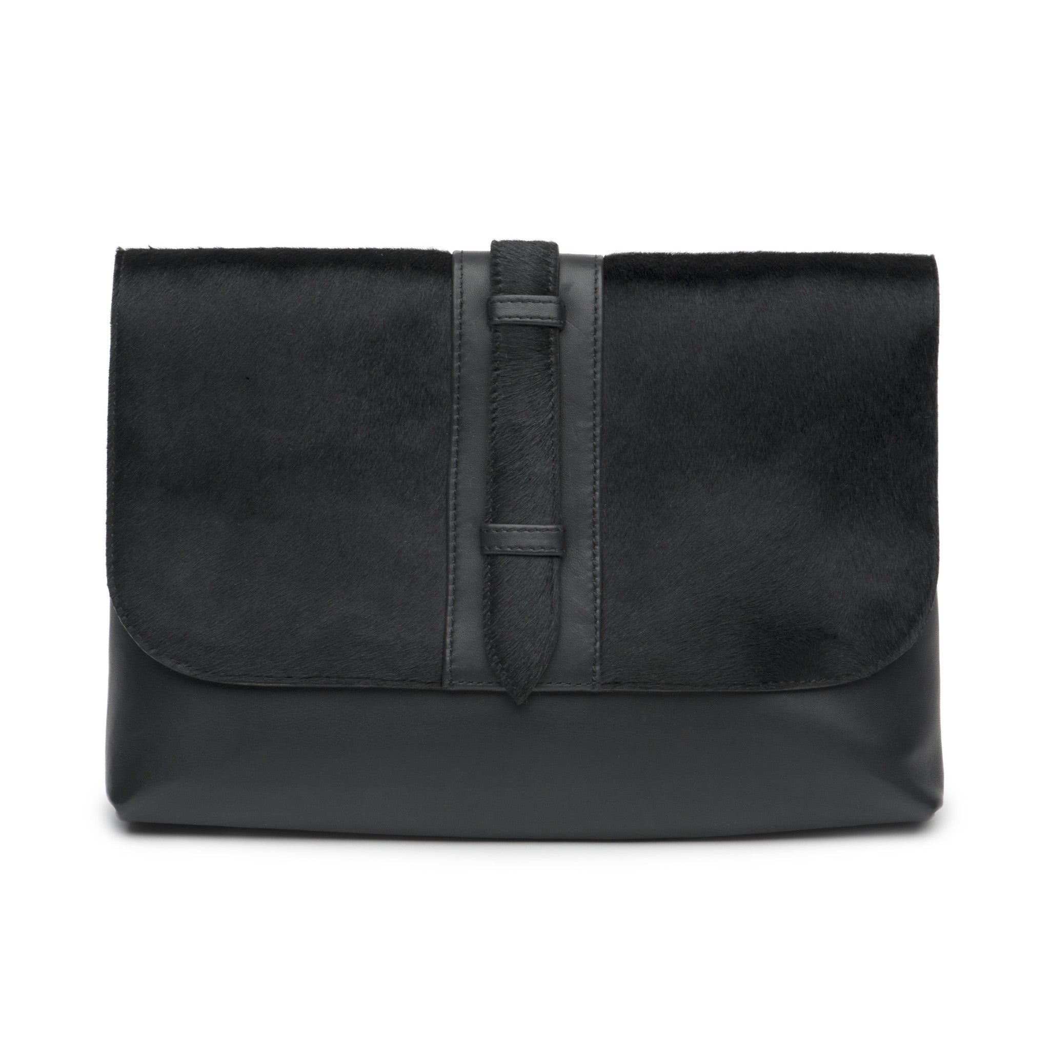 Diaba Clutch Pony Black