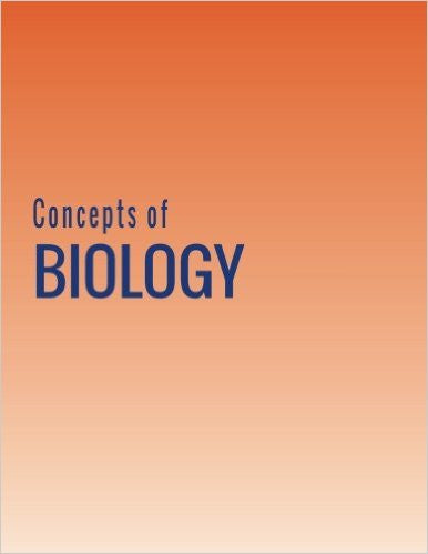 CONCEPTS BIOLOGY - HARD COVER