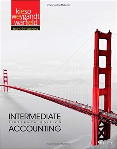 INTERMEDIATE ACCOUNTING-TEXT 15TH