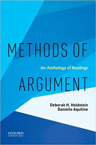 METHODS OF ARGUMENT