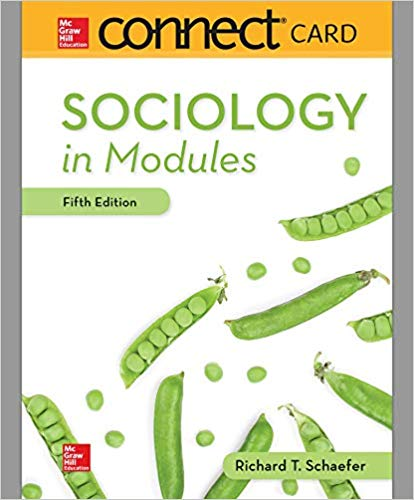 CONNECT ACCESS CARD FOR SOCIOLOGY IN MODULES 5TH EDITION