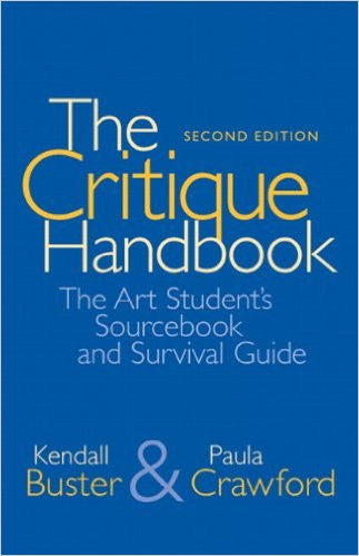 CRITIQUE HANDBOOK:ART STUD.SOURCEBK...