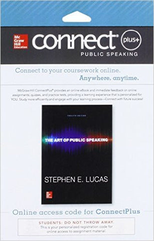 ART OF PUBLIC SPEAKING - CONNECT