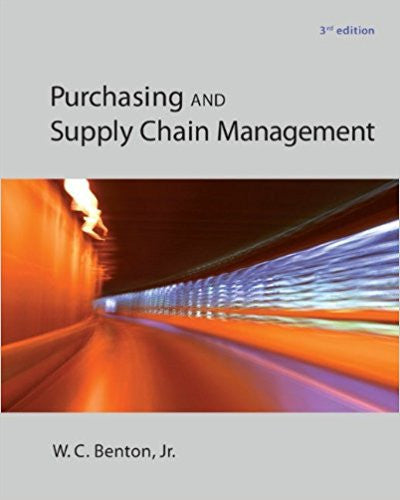 PURCHASING+SUPPLY MANAGEMENT