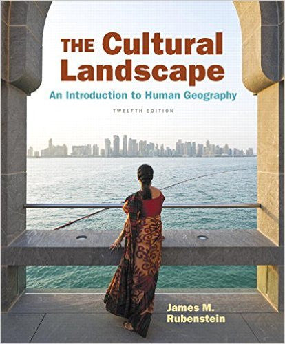 THE CULTURAL LANDSCAPE (AN INTRODUCTION TO HUMAN GEOGRAPHY) HARDCOVER