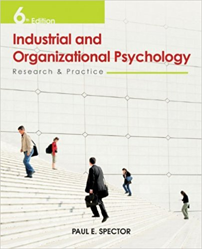 INDUSTRIAL+ORGANIZATIONAL PSYCHOLOGY