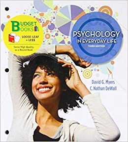 PSYCHOLOGY IN EVERYDAY LIFE 3RD