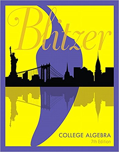 COLLEGE ALGEBRA - LOOSE LEAF - 7TH EDITION