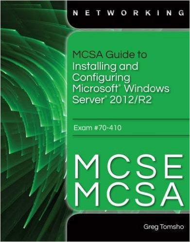 MCSA GD.INS.MS.WIN.SERV'12/R2-W/CD+CODE