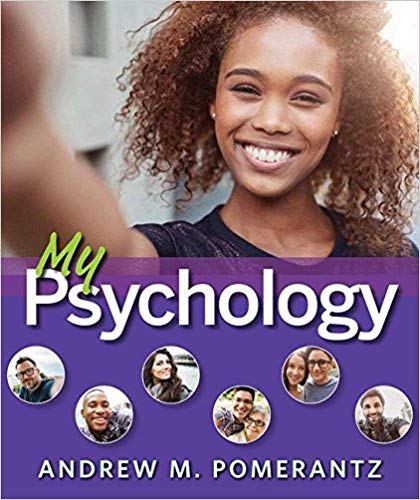 MY PSYCHOLOGY WITH LAUNCHPAD - PAPERBACK