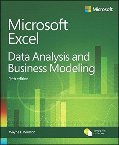 MICROSOFT EXCEL DATA ANALY.+BUS.MODEL.