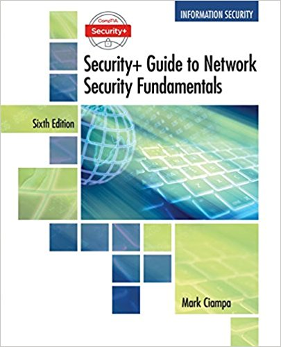 CompTIA Security+ Guide to Network Security Fundamentals 6th Edition