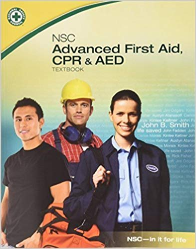 NSC Advanced First Aid, CPR & AED - PAPERBACK