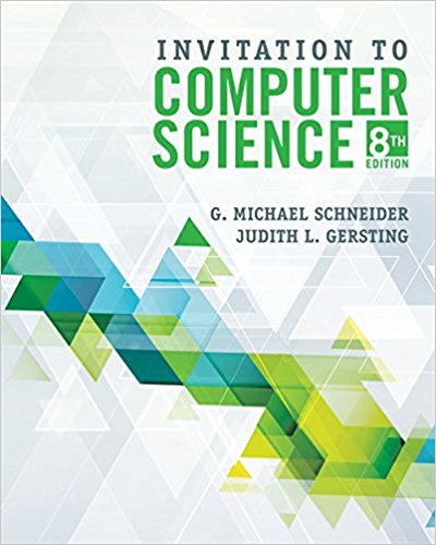 INVITATION TO COMPUTER SCIENCE 8TH