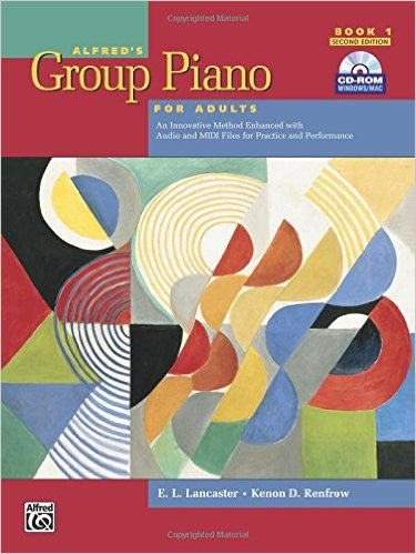 ALFRED'S GROUP PIANO F/ADULTS,BK.1-W/CD