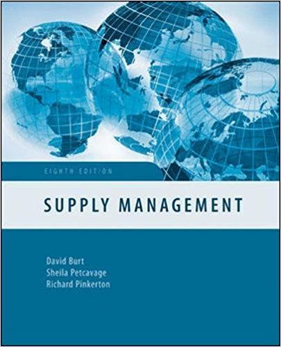 SUPPLY MANAGEMENT 8TH