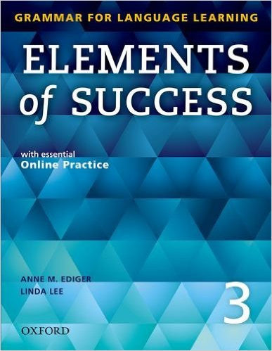 ELEMENTS OF SUCCESS:LEVEL 3-W/ACCESS